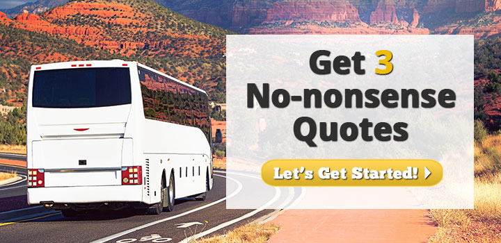 Get 3 No-Nonsense Bus Insurance Quotes
