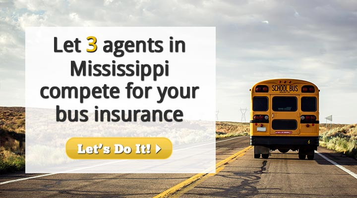 Mississippi Bus Insurance Quotes